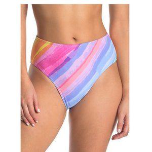 Rachel Rachel Roy Ombre High Waist Bikini Bottoms